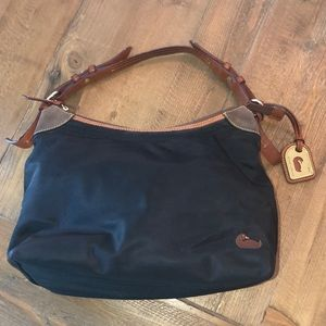 Dooney & Bourke Hobo Bag - Canvas and Leather